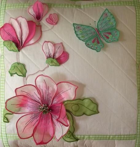 Magnolias Cushion 2