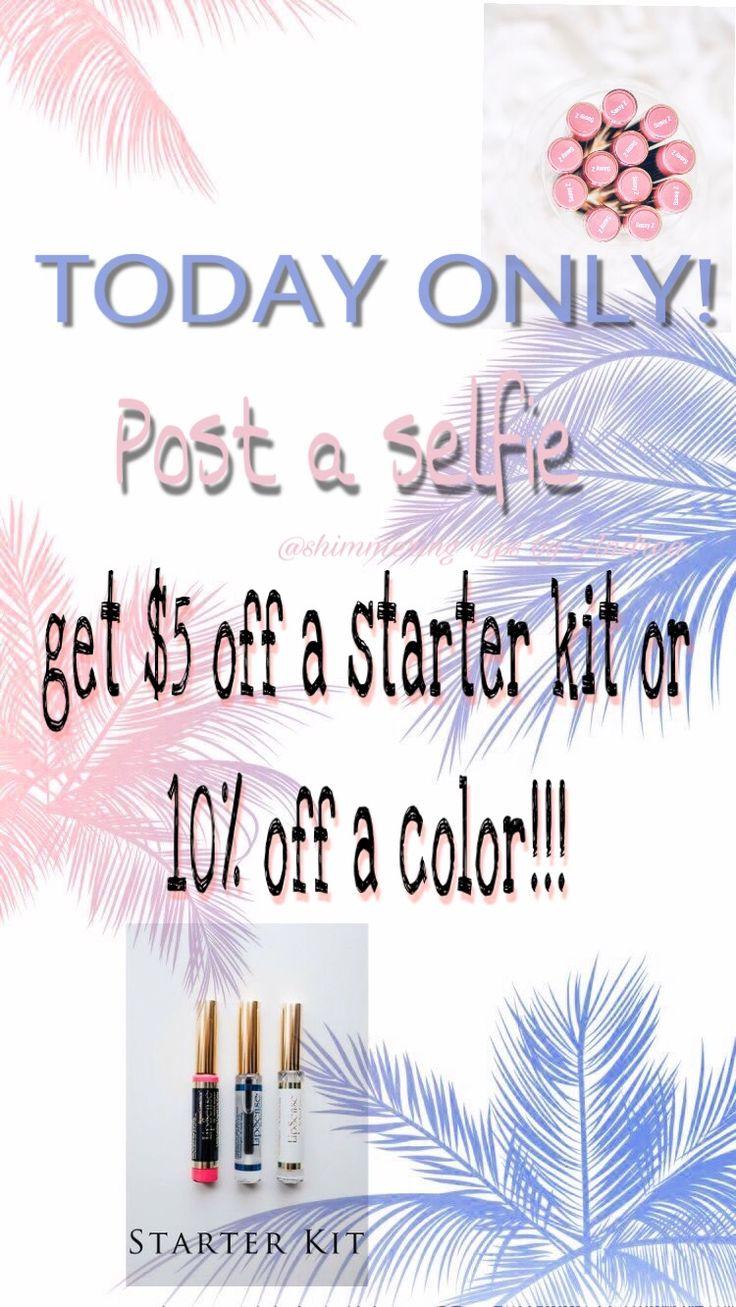 Lipsense contest $5 off starter kit 10% off color distributor 364226 Fb Shimmering Lips by Andrea IG @shimmering_lips