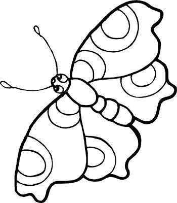 La Chachipedia Mariposas Para Colorear Para Imprimir Y Gifs