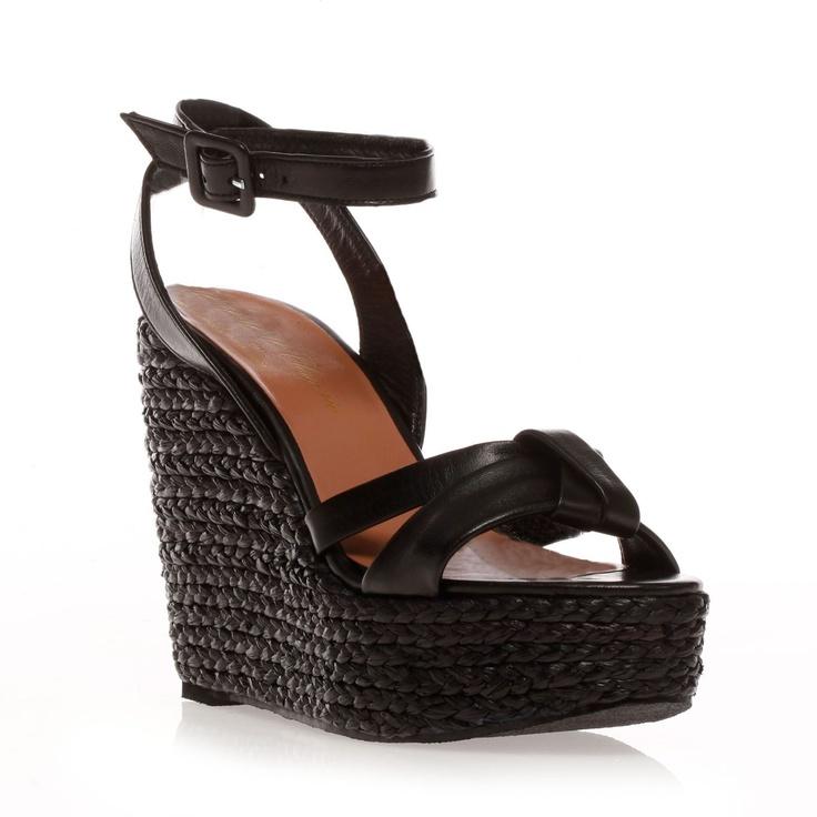 les 25 meilleures id es concernant chaussures compens es en cuir sur pinterest chaussures d. Black Bedroom Furniture Sets. Home Design Ideas