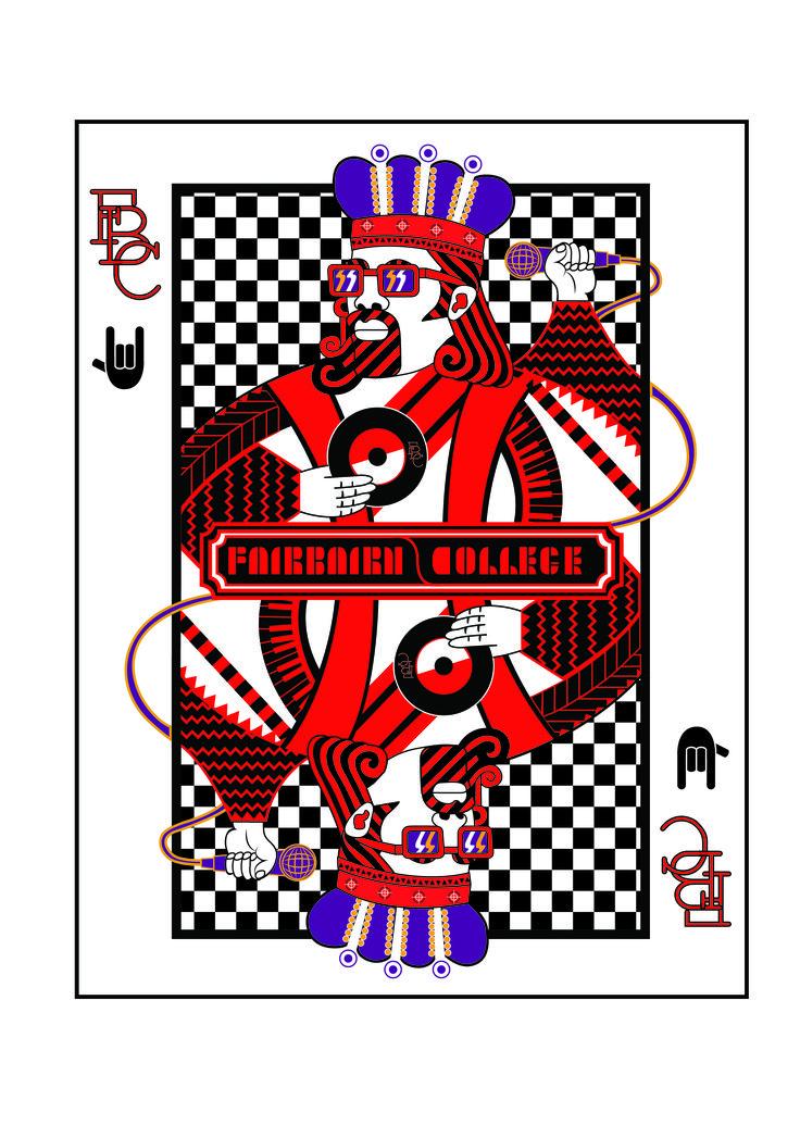 Matric Ball invite Alice in Wonderland Themed Fairbairn College