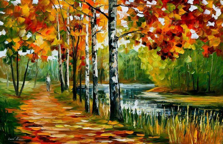 Endless Summer — PALETTE KNIFE Oil Painting On Canvas By AfremovArtStudio, $249.00