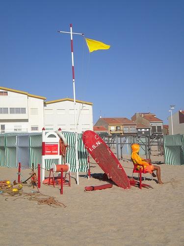 Povoa do Varzim,  le long des cote portugaise .
