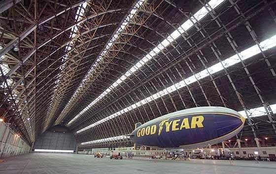 Inside The Tustin Blimp Hangar California My New Home