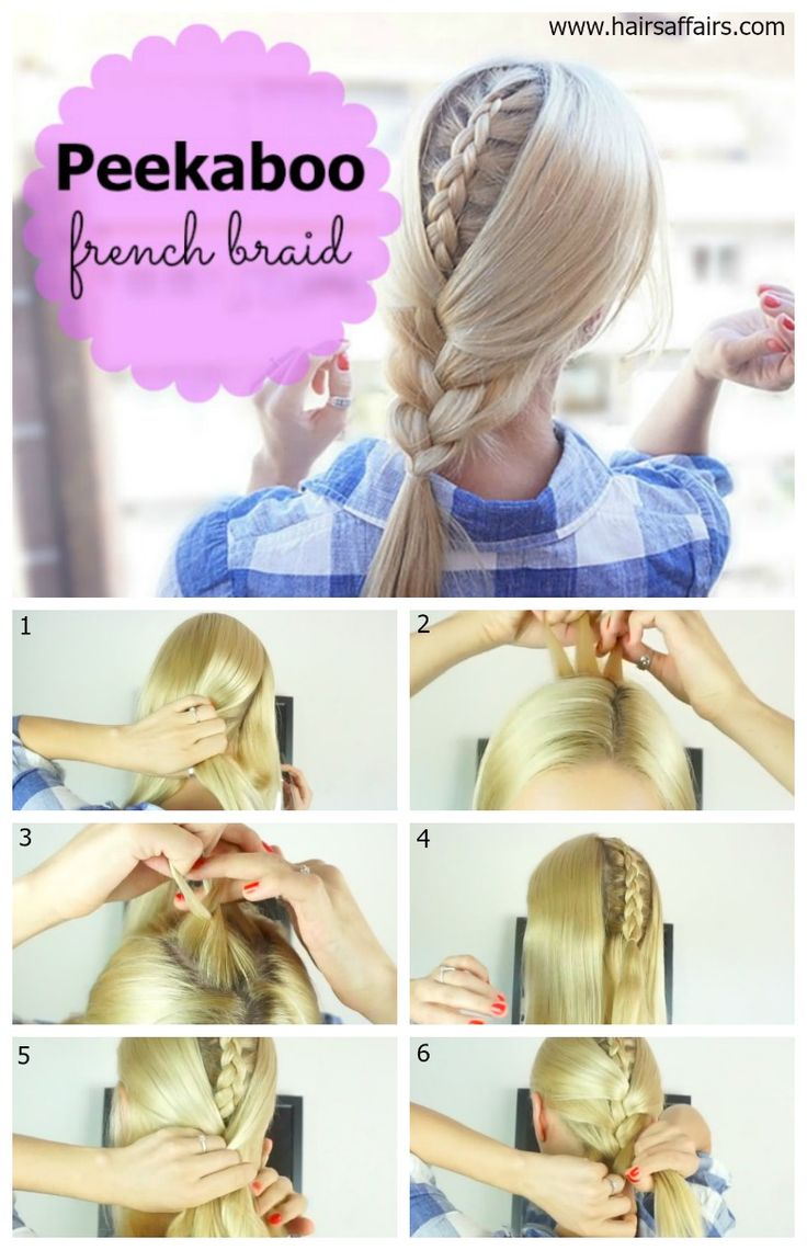 Peekaboo french braid tutorial with video https://hairsaffairs.com/peekaboo-french-…pice-old-classic/