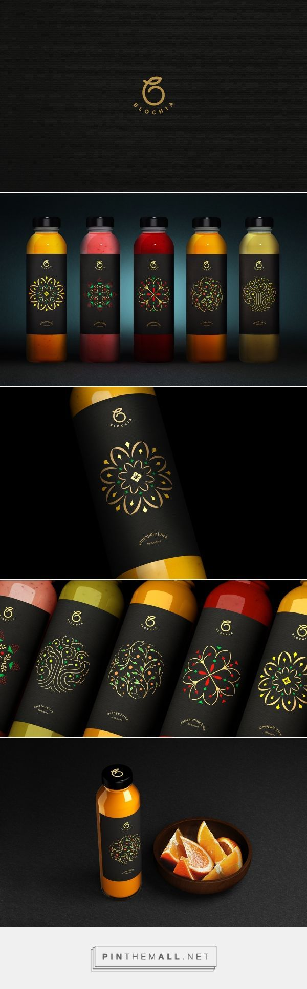 BLOCHIA Fresh Juice Packaging by Sabeti Studio | Fivestar Branding Agency – Design and Branding Agency & Curated Inspiration Gallery