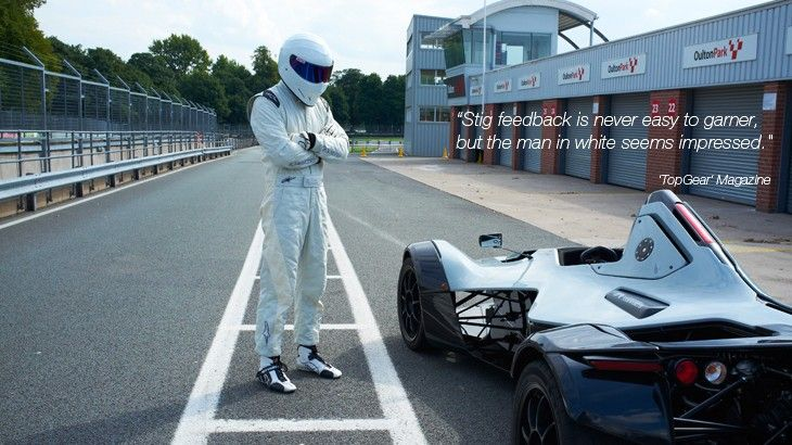 TopGear BAC Mono Lap: A Stigs Perspective | (Video)