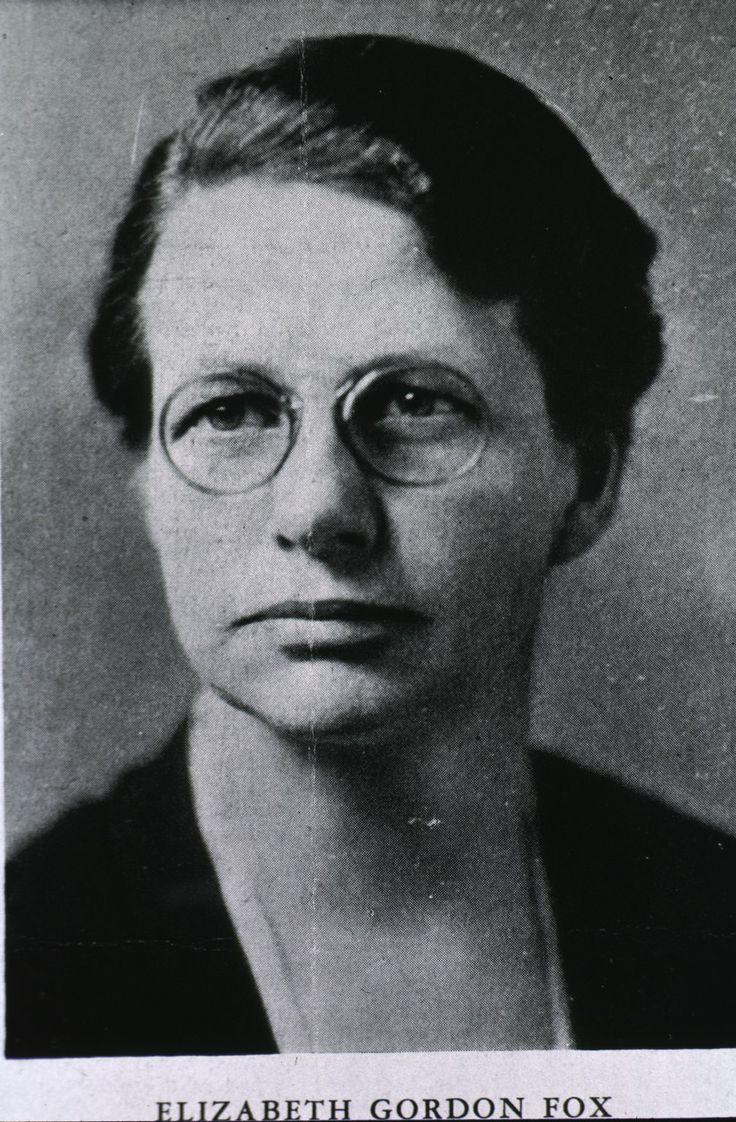 Elizabeth gordon fox was an advocate of visiting nurse