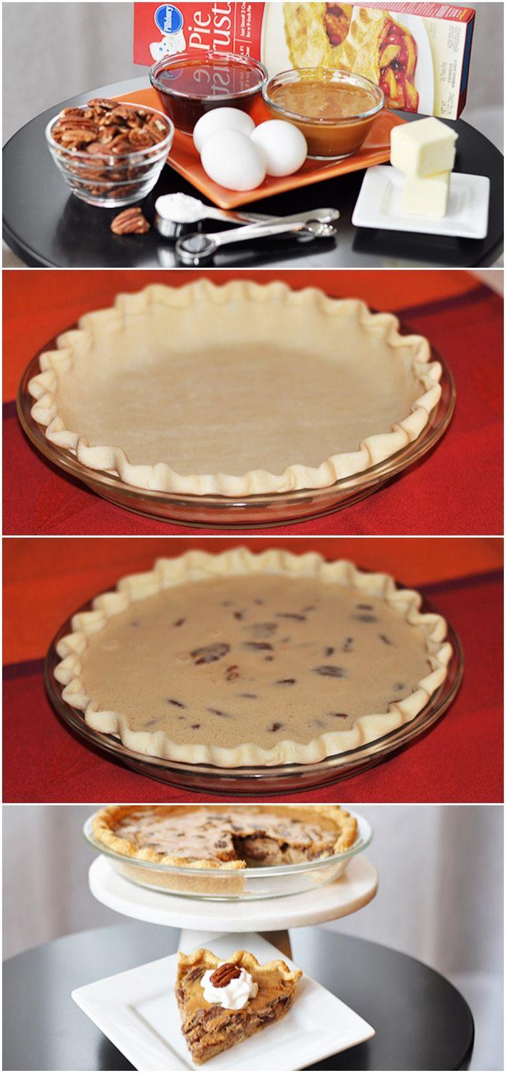 {Easy} Sugar Free Pecan Pie #pillsbury