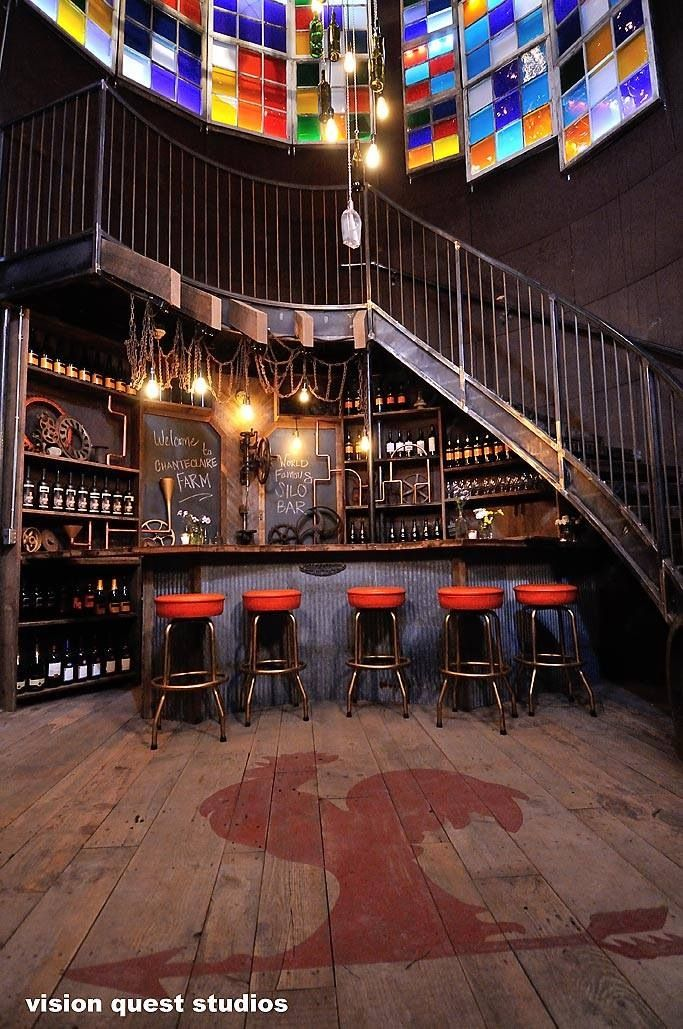 The creation of the Silo Bar, featured on Animal