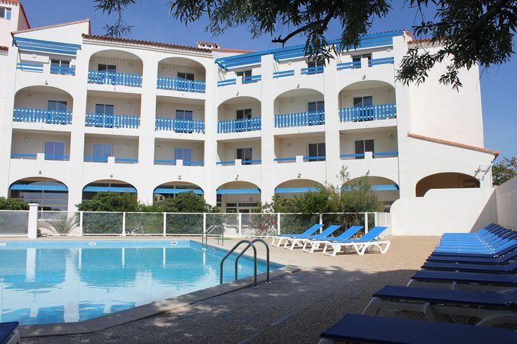 Résidence Le Grand bleu avec piscine extérieure à Port Barcarès by Goelia -