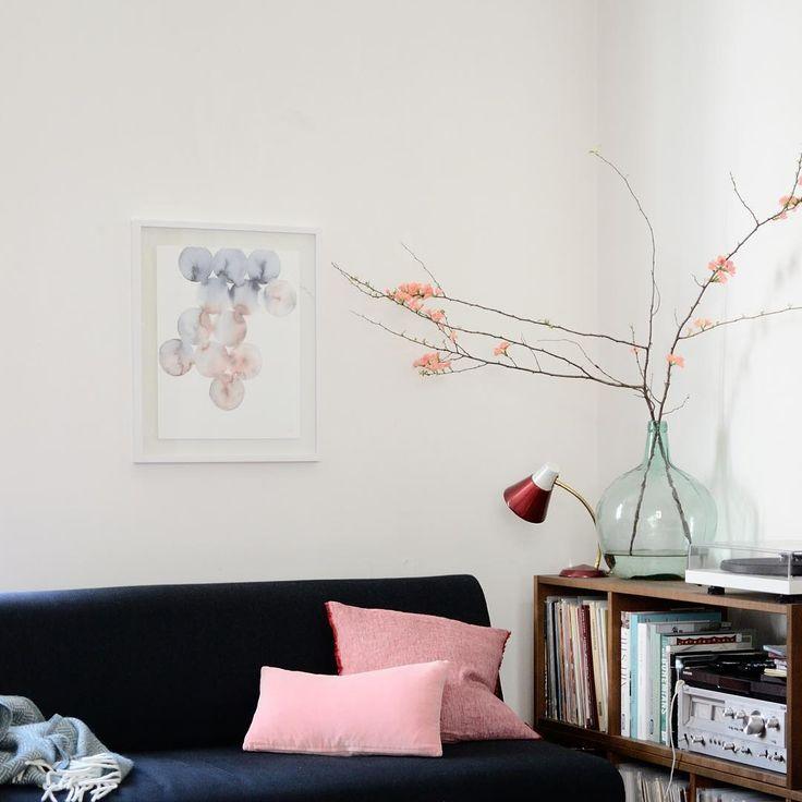 Melt art print by Silke Bonde