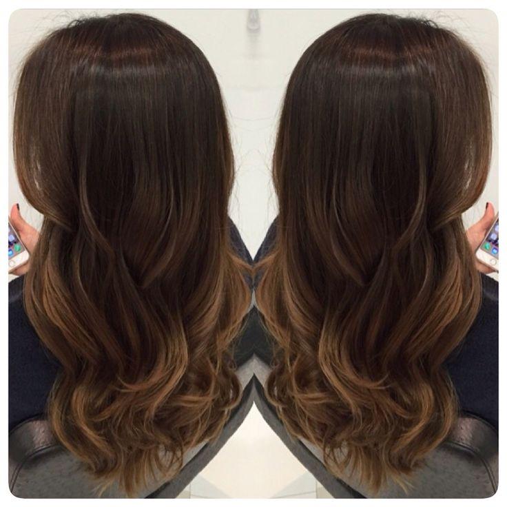38 melhores imagens sobre moda cabello no pinterest bobs mechas e balayage - Ombre hair marron caramel ...