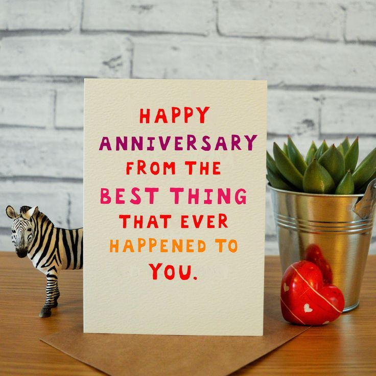 Funny anniversary card Cards for Husband Card for boyfriend Cards for him Wife anniversary card for her Girlfriend anniversary gift