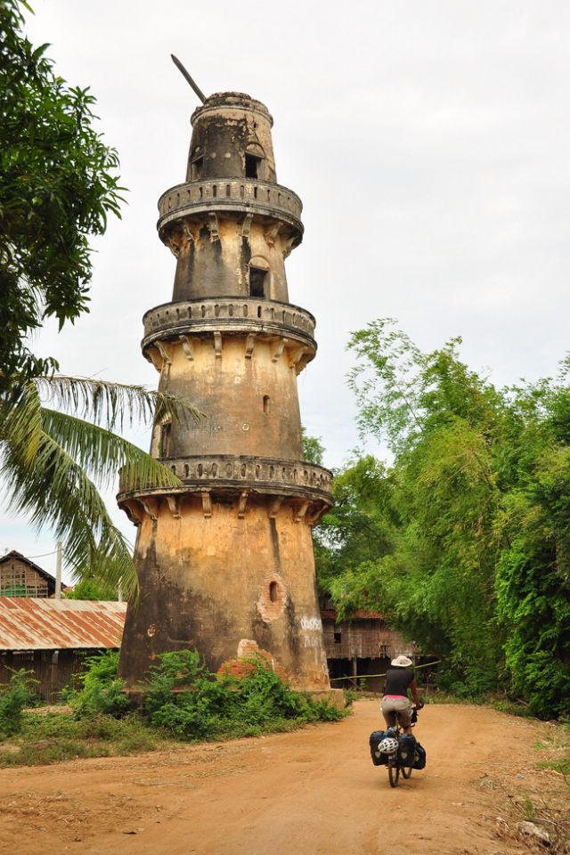 Lighthouse at Croachamar, Cambodia