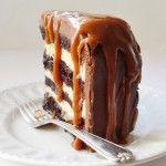 Salted Caramel Chocolate Fudge Cake | Domestic Gothess