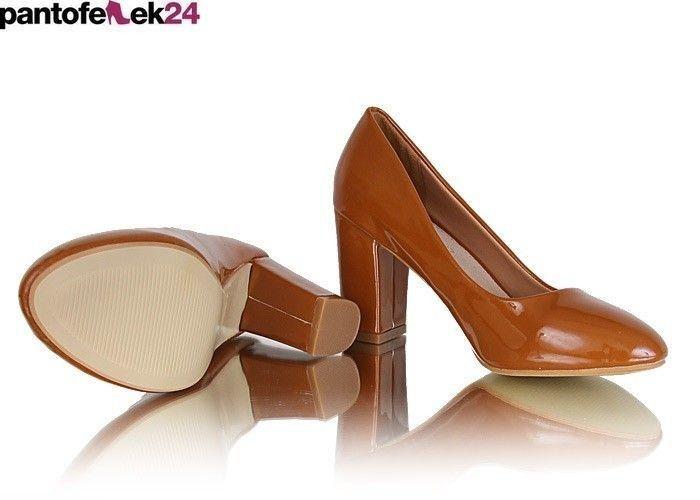 Brązowe szpilki / Camel heels / 64,50 PLN #heels #camel #szpilki #shoes #obuwie