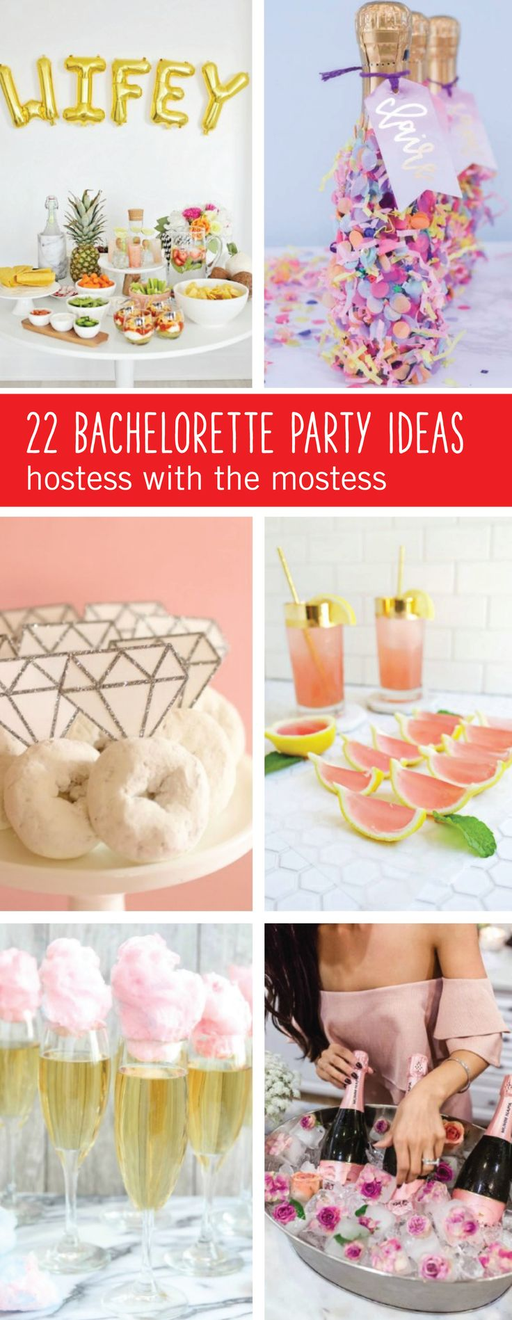 Getting the girls together to celebrate engagements is so much more fun with the help of these 22 Bachelorette Party Ideas! From creative, ring-themed treats to bubbly cocktails and fun activities, this guide has thought of it all.