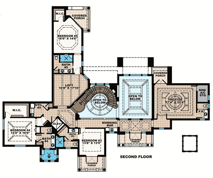 211 best home floorplans monsterhouse images on for Elevator bed plans