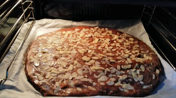 speculaas in oven