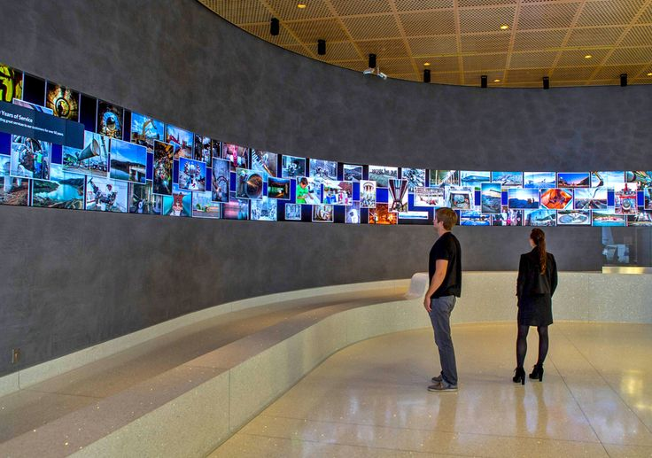 Located in the lobby of the San Francisco Public Utilities Commission (SFPUC) headquarters, a massive interactive, high-resolution, curved video wall has gone live providing education and information to the utilities' daily visitors.