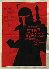 Inspired by Saul Bass - Star Wars Poster