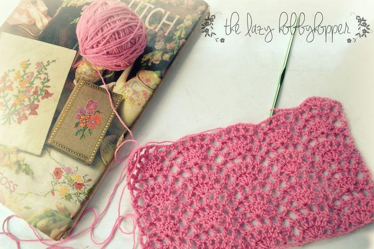 The Lazy Hobbyhopper: Stitch pattern #3
