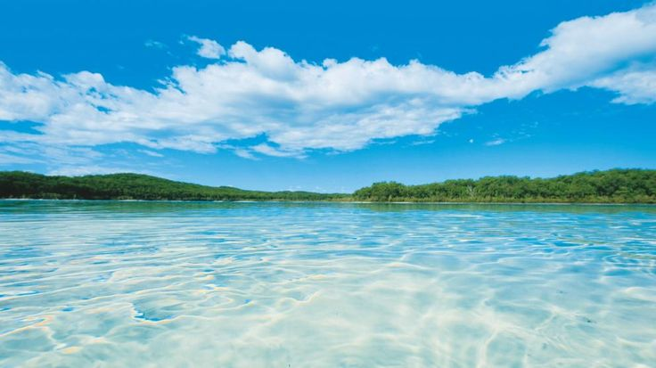 Fraser Island, QLD. © Tourism and Events Queensland
