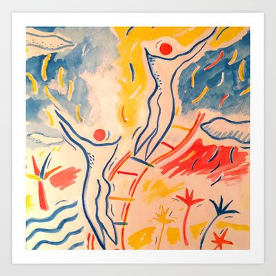 Aspiration Art Print by Isi Morgan-Giles - $22.88