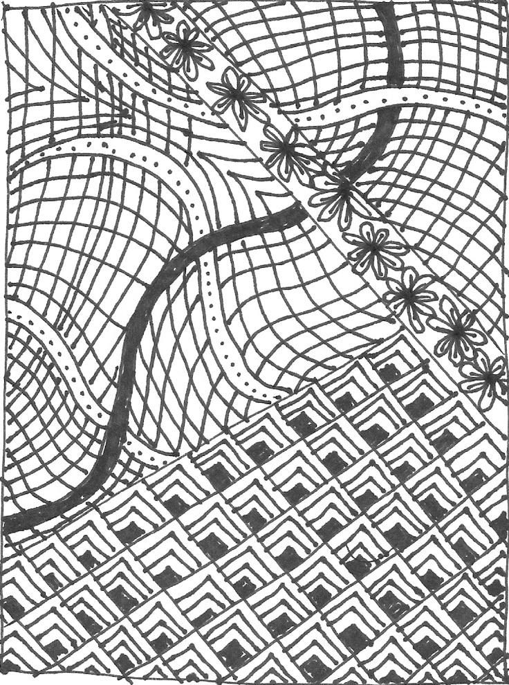 #1 Zentangle