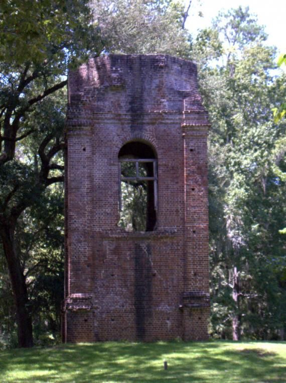 Dorchester, Summerville, South Carolina - Settled in 1696 and abandoned after the revolutionary war.