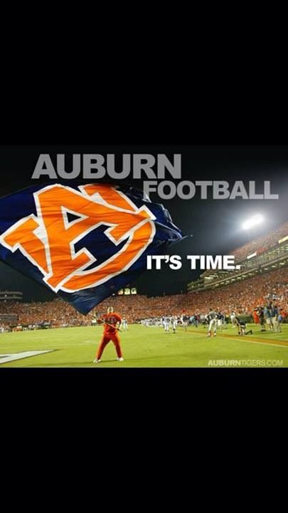 Auburn football time