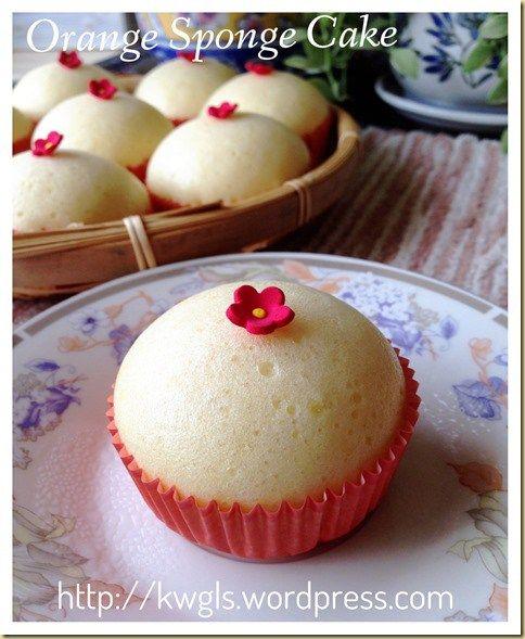 Orange sponge cake (香橙鸡蛋糕)