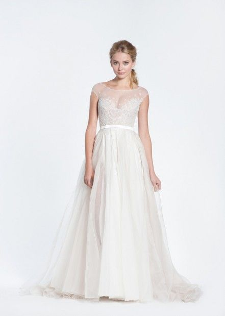 Прямое свадебное платье Veryna