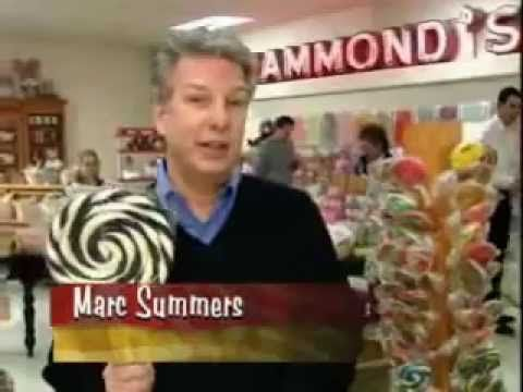 """The Food Network """"Unwrapped"""": Dum Dums Lollipops - As we read through the Sonlight Core D book The Candymakers, we're enjoying videos of the process of making many different candies!"""