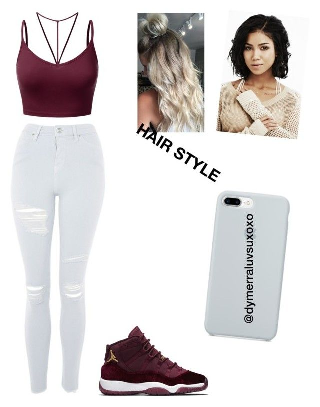 """""""Lailani outfit for Aunts b-day party"""" by dymerraluvsuxoxo ❤ liked on Polyvore featuring Topshop, J.TOMSON, Aiko and ETUÍ"""
