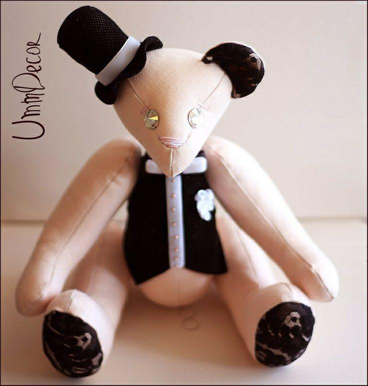 Wedding bear  Декоративная игрушка