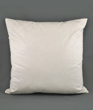 "20"" x 20"" Down Pillow Form - 5/95 - $13.65 