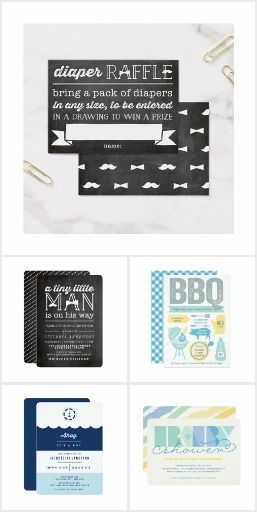 BOY BABY SHOWER INVITES & MATCHING STATIONERIES a collection of baby shower invitations and sip and see cards for baby boys and matching stationeries & accessories by fatfatin | shop more designs at www.zazzle.com/fatfatin_box | www.zazzle.com/fatfatin_mini_me | www.zazzle.com/fat_fa_tin