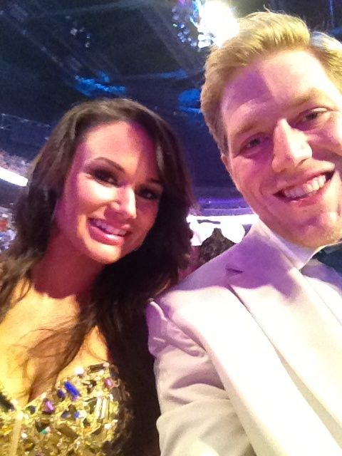Jack Swagger (Jacob Hager) & his wife Catalina White-Hager ...
