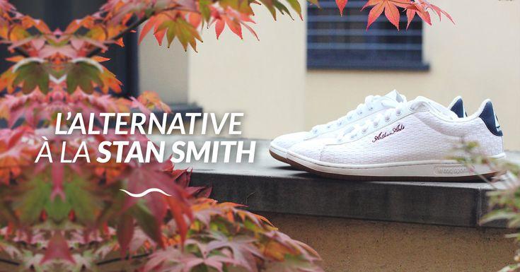 L'alternative engagée à la Stan Smith : découverte des baskets « Arthur Ashe Palais Pack » à motif texturé par le Coq Sportif.