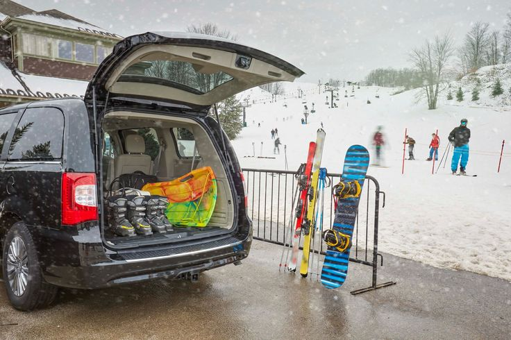 You shouldn't have to worry about fitting in some fun this winter, just Stow 'n Go ®.