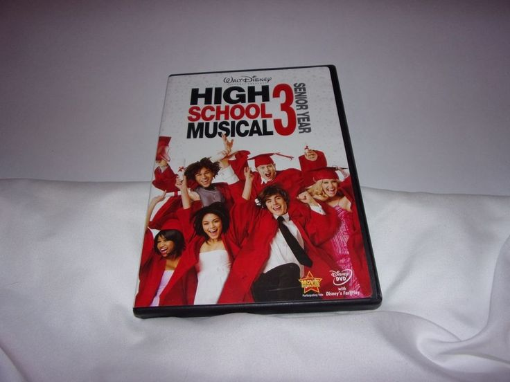 High School Musical 3: Senior Year (DVD, 2008) Disney,  #WaltDisney