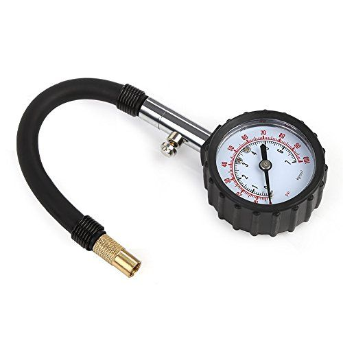 Rupse High-accuracy portable Tyre Gauge Pressure meter for Auto Car Motorcycle