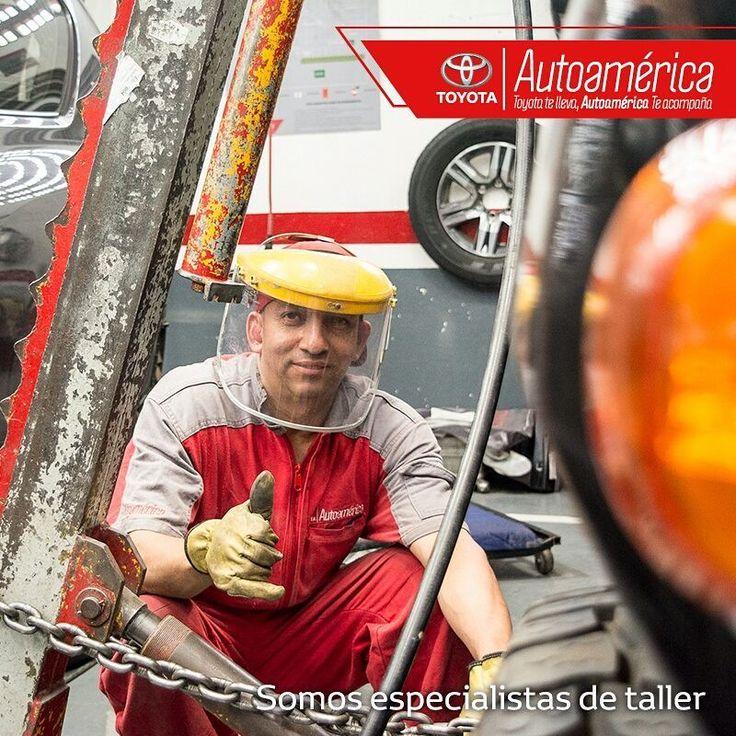 Reforzamos todas las potencialidades de tu #Toyota para que conserve la fortaleza que lo caracteriza. Te esperamos en nuestro taller de mecánica especializado #AutoaméricaIndustriales #AutoaméricaApartadó https://goo.gl/dHWnoV