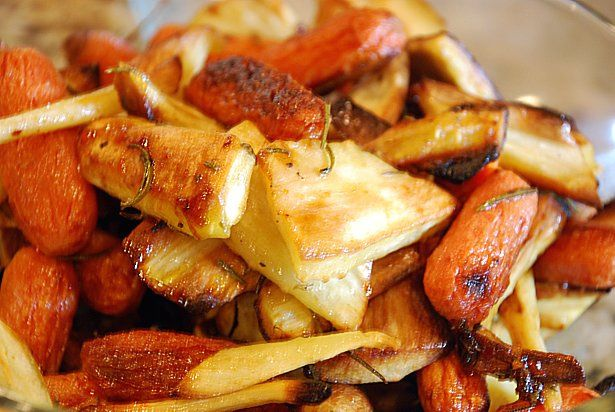 Roasted parsnips and carrots add - rosemary and honey, or balsamic ...