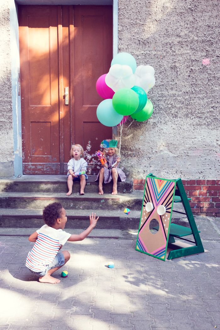 Eine Sommerparty für Kinder. Oder: Was man alles Dolles mit Tripp Trapps anstellen kann – diverse sensationelle, einfache Ideen! | Ohhh… Mhhh…