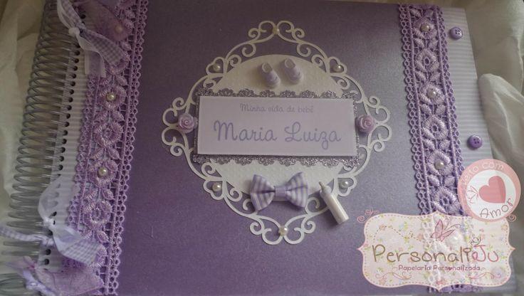 Album Lilás e Branco