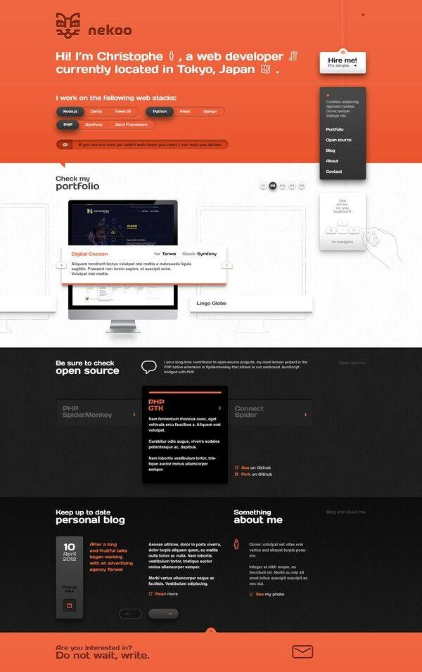 Nekoo web design