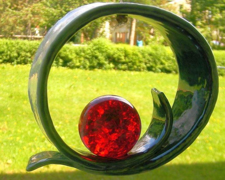 Windspiele - MaiBella Windspiel, Fensterdekoration, Keramik - ein Designerstück von beckkeramik bei DaWanda